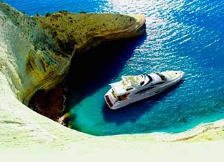 Alquiler de Yate de Lujo en Grecia