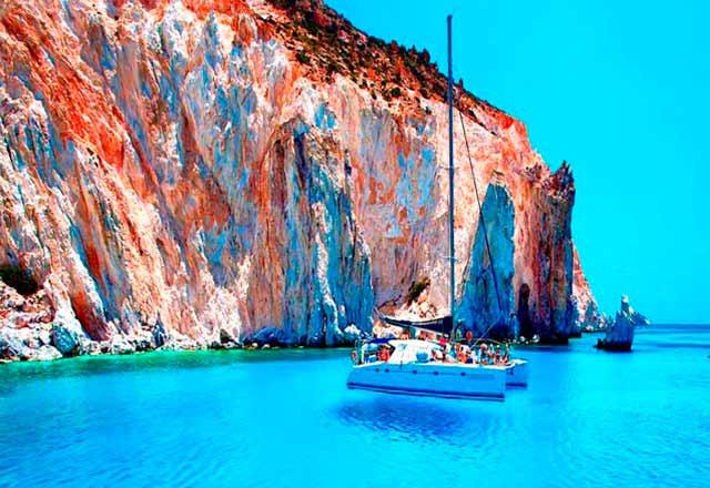 Principal Alquiler de Catamarán en Grecia