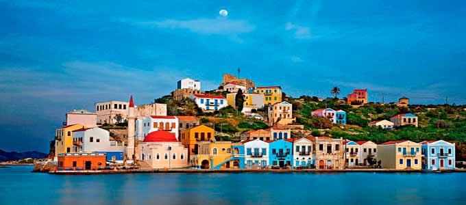 Viaje de Vacaciones en Velero a Turquía - Kastelorizo