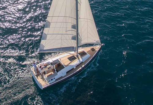Navegación en el Alquiler de Velero Hanse 38.8 en La Manga
