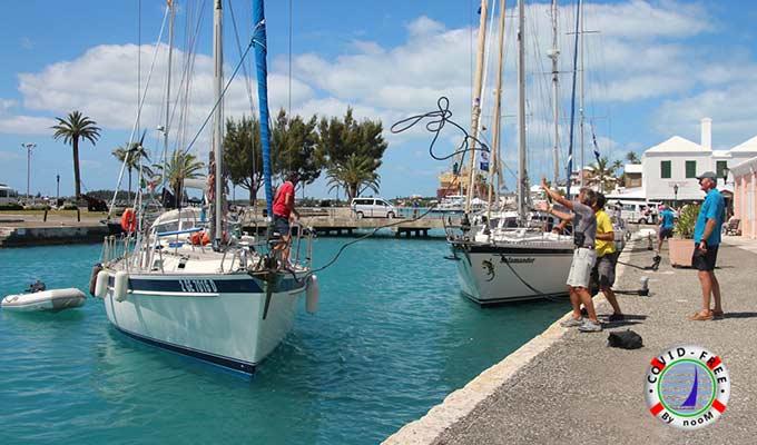 Atraque en Puerto para el Protocolo Covid-Free para Viajes en Velero