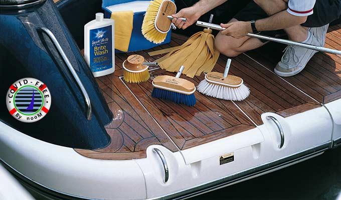 Limpieza y Desinfección en el Protocolo Covid-Free para Viajes en Velero