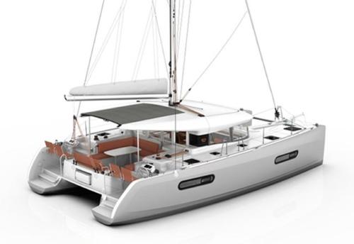 Maqueta del Alquiler de Catamarán Excess 12 en Denia